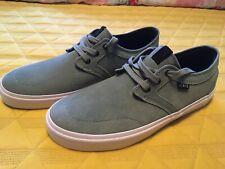 State Bishop Mint/ White Suede Skate Shoes Men's Size 9.5 FTWST10805 Vans
