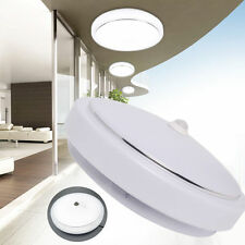 Modern 12W Infrared PIR Sensor Motion Light Flush Mounted LED Ceiling Bulbs Lamp