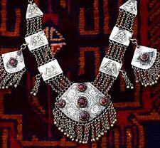 Kashmiri Necklace Ethnic Tribal Kuchi Afghan Bib Belly Dance Gypsy Boho Jewelry