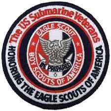 Boy Eagle Scout US Submarine Veterans Patch Badge BSA Merit Award Centennial