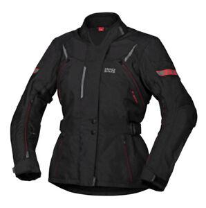 IXS Liz-St Women's Motorcycle Jacket Waterproof Touring Jacket with Protectors
