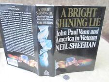 A BRIGHT SHINING LIE,1988,Neil Sheehan.1st Ed,DJ