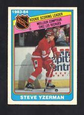 1984-85 OPC STEVE YZERMAN #385 SCORING LEADER NRMT+ (REF 3233)
