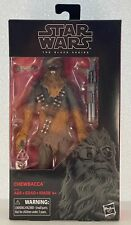 "Target Exclusive Star Wars Black Series 6"" Chewbacca Han Solo Movie"