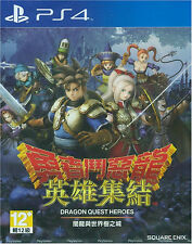 Dragon Quest Heroes:Anryu to Sekaiju no Jou HK Chinese subtitle Version PS4 NEW