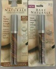L'Oreal Bare Naturale / True Match Naturale Mascara - #800 Black (Pack of 2)