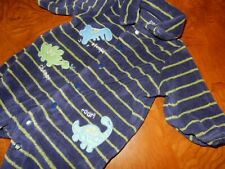 8d289a1d8c19 Vintage Newborn Carter s Dinosaur Plush Terry Cloth Footed Sleeper Outfit