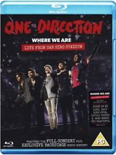 One Direction Where We Are: Live From San Siro Stadium Blu-ray NEW