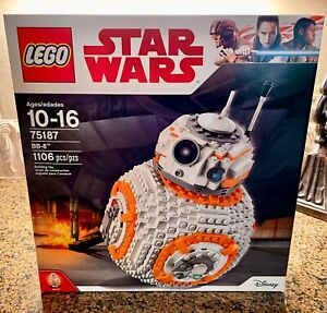Brand NEW LEGO Star Wars BB-8 2017 (75187) Free Shipping Sealed Retired