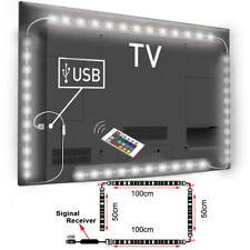 LED Backlight TV Hintergrund-Beleuchtung Licht-Band Stripes Streifen 60 RGB WT