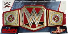 WWE UNIVERSAL RED CHAMPIONSHIP TOY TITLE BELT WRESTLING MATTEL RAW smackdown