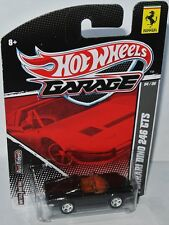 Garage / Ferrari - FERRARI DINO 246 GTS - black metallic - 1:64 Hot Wheels