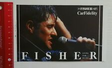 ADESIVI/Sticker: Fisher hi-fi car Fidelity (12031687)