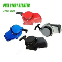 ALUMINUM PULL STARTER START RECOIL 47cc 49CC MINI POCKET BIKE ATV 2 Stoke