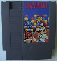 DR MARIO NES NINTENDO VIDEO GAME TESTED AND WORKING