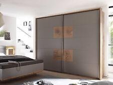 Kleiderschrank Schwebetürenschrank Schlafzimmer CAMERON Eiche Grau Dekor 270 cm