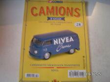 ** Camions d'antan n°28 Camionnette Volkswagen Transporter Nivea / Austin