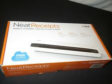 New! NeatReceipts Mobile Scanner Digital Filing System (Y554)