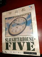 Kurt Vonnegut's SLAUGHTERHOUSE FIVE Rare BIG BOX PC Multimedia Experience 1994