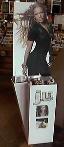 "JENNIFER LOPEZ ""J.LO"" GIANT U.S. PROMO STAND-UP DISPLAY-Very Own Life Size J.Lo!"