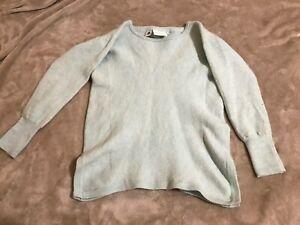 Jeanswest size 10 girls 100% extrafine Australian merino wool peppermint jumper