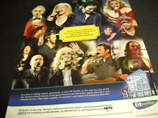 Pavillion San Jose Streisand Springsteen Bocelli others 2012 Promo Display Ad