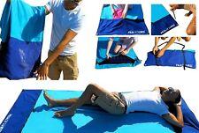 Grand Microfibre Léger Vacances Familiales Serviette de plage-Sports Voyage Camping