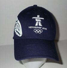 Vancouver 2010 XXI Winter Olympics Hat Cap by New Era M - L Blue