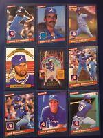 1986 Donruss ATLANTA BRAVES Complete Team Set 24 MURPHY, HANK AARON CARD !