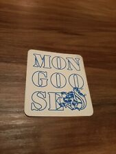 80's Vintage Old School MONGOOSE bmx Decal Sticker