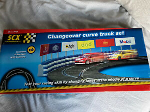 SCX 88440 Changeover Curve Trackset Crossover Track Spanish Scalextric