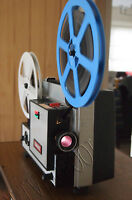 CINEREX 707 DUAL SUPER 8  8mm CINE MOVIE FILM PROJECTOR