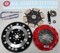 ACS STAGE 3 CLUTCH KIT+ RACING FLYWHEEL FOR ACURA RSX 2.0L HONDA CIVIC SI