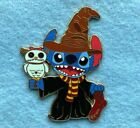 Harry Potter Lilo & Stitch With Scrump Hedwig Disney Fantasy Pin