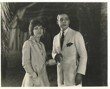 THE SHEIK (1921) Rudolph Valentino With Wife Agnes Ayres Silent Film Drama 8x10