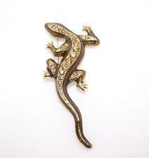 Macy's Gold Tone Gecko Lizard pin