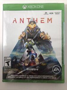 Anthem New Sealed - 2019 Microsoft Xbox One Enhanced Bioware Game EA Free Ship