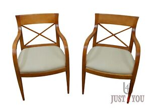 Pair of Baker Archetype Arm Chairs