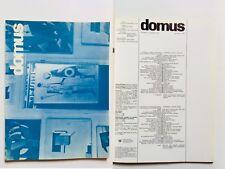 Domus 524 luglio 1973 Rivista architettura Gio Ponti  Massimo Vignelli Enzo Mari