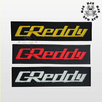 Greddy Motor Car Brand Tunning Patch Iron On Patch Sew On Embroidered Patch