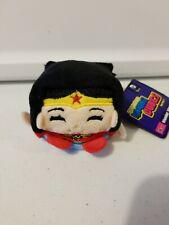 NEW with Tags DC COMICS WONDER WOMAN KAWAII CUBES BEAN PLUSH SERIES 1