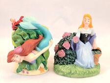 HTF Disney Lenox Disney Magic Thimble Col. Figurines Ariel & Sleeping Beauty