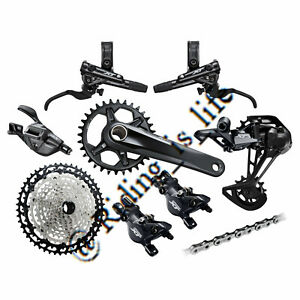 New SHIMANO XT M8100/M8120 1x12 Speed MTB Full Groupset 32T/34T/ 51T,170MM/175MM