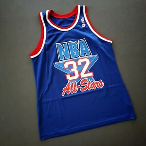 100% Authentic Shaquille O'Neal Vintage Champion 1993 All Star Jersey Size 44
