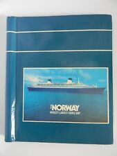 Vintage ss Norway 10 Page Double Sided Photo Album