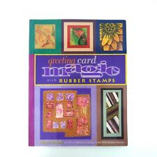 Mary Jo McGraw : 2000 1st EDITION GREETING CARD MAGIC WITH RUBBER STAMPS BOOK