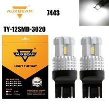 2X AUXBEAM 7443 LED White Reverse Light Daytime Running light Backup Bulbs 6000K