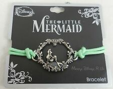 -new-disney-the-little-mermaid-ariel-pendant-cord-bracelet