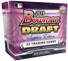 Bowman 2019 Draft Baseball Sapphire Edition Box - 32 Trading Cards