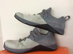 Nike Metcon Flyknit 3 Men's Size-13 (AQ8022 002) Cool Grey/Black